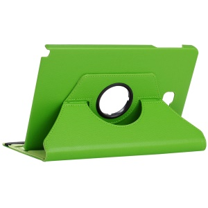 Litchi Grain Rotary Stand Leather Tablet Case for Samsung Galaxy Tab A 10.1 (2016) with S Pen P580 P585 - Green