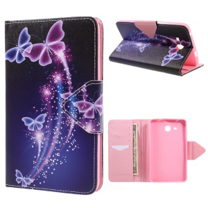 Wallet Stand Leather Cover for Samsung Galaxy Tab A 7.0 (2016) T280 T285 - Pretty Butterflies