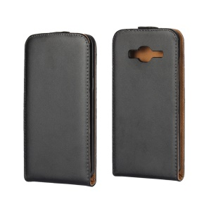 Split Leather Vertical Flip Phone Case for Samsung Galaxy J3 / J3 (2016)