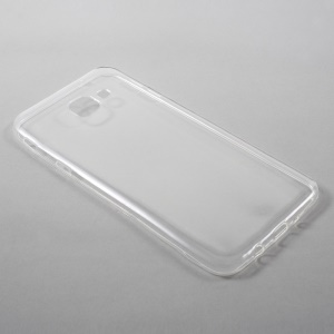Ultra-thin Clear TPU Phone Case for Samsung Galaxy A8 (2016) - Transparent