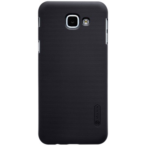 NILLKIN Super Frosted Shield Hard Case for Samsung Galaxy A8 (2016) + Screen Film - Black