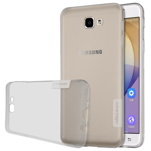 NILLKIN 0.6mm Nature TPU Phone Cover for Samsung Galaxy On7(2016)/J7 Prime - Grey