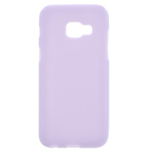 Glossy TPU Mobile Phone Case for Samsung Galaxy A5 (2017) - Purple