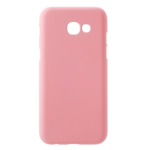Rubberized Hard Cover Case for Samsung Galaxy A5 (2017) - Pink