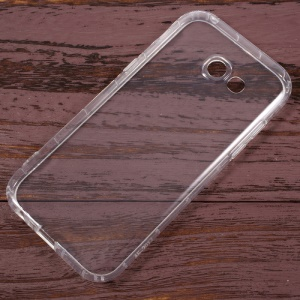 Drop-proof Clear TPU Phone Case for Samsung Galaxy A5 (2017) - Transparent