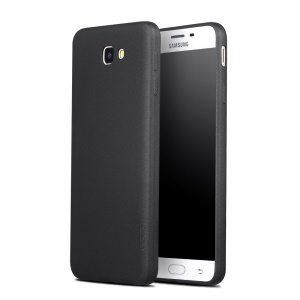 X-LEVEL Guardian Series Matte TPU Mobile Case for Samsung Galaxy J7 Prime/On7 2016 - Black