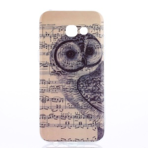 Pattern Printing IMD TPU Case Mobile Accessory for Samsung Galaxy A3 (2017) - Musescore and Owl
