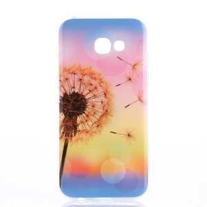 Patterned IMD Phone Case TPU Cover for Samsung Galaxy A5 (2017) - Dandelion
