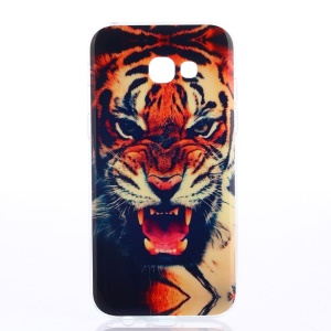 Patterned IMD TPU Soft Case Cover for Samsung Galaxy A5 (2017) - Roaring Tiger