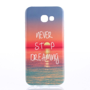 Soft IMD TPU Protection Case for Samsung Galaxy A5 (2017) - Never Stop Dreaming