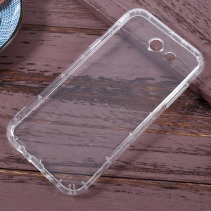 For Samsung Galaxy J3 Prime Drop-resistant Clear TPU Phone Case Accessory