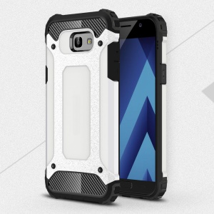 Armor Guard Plastic + TPU Combo Case for Samsung Galaxy A7 (2017) - White