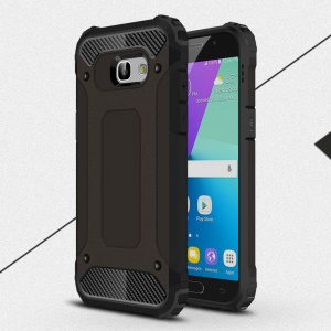 Armor Guard Plastic + TPU Hybrid Case for Samsung Galaxy A5 (2017) - Black