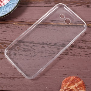 Crystal Clear Thin Scratch-proof TPU Mobile Phone Case for Samsung Galaxy J3 Prime