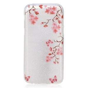 IMD Pattern Printing TPU Mobile Phone Case for Samsung Galaxy A3 (2017) - Blooming Flowers