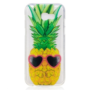 IMD Pattern Printing TPU Cell Phone Case for Samsung Galaxy A3 (2017) - Cool Pineapple