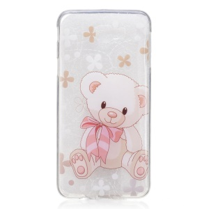 Pattern Printing IMD TPU Case for Samsung Galaxy J7 Prime/On7 2016 - Adorable Bear