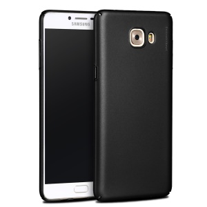 X-LEVEL Frosted PC Hard Phone Back Case for Samsung Galaxy C9 Pro - Black