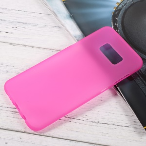 Matte Cell Phone Case TPU Cover for Samsung Galaxy S8 Plus - Rose