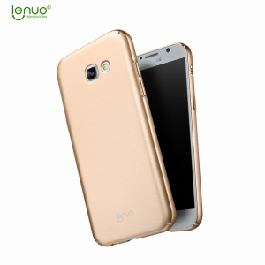 LENUO Leshield Series Silky Touch PC Hard Cover Case for Samsung Galaxy A3 (2017) - Gold