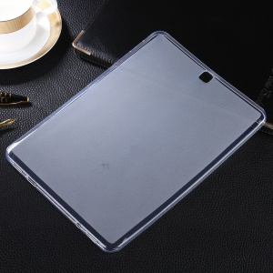 Double-sided Matte TPU Tablet Case for Samsung Galaxy Tab S2 9.7 T810 T815 - Transparent