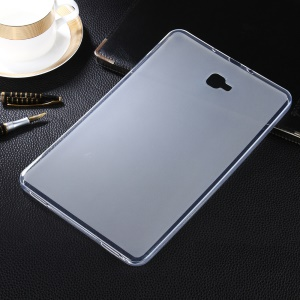 50Pcs/Set Two-side Matte TPU Case Cover for Samsung Galaxy Tab A 10.1 (2016) T580 T585 - Transparent