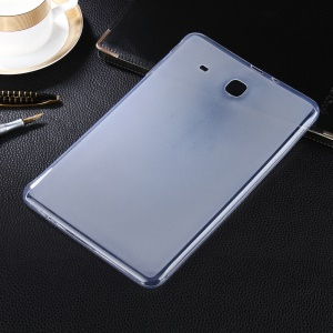 Two-side Matte Soft TPU Cover Case for Samsung Galaxy Tab E 9.6 T560 - Transparent