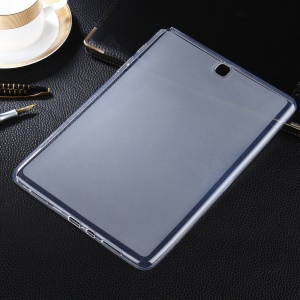 Double-sided Matte Soft TPU Case for Samsung Galaxy Tab A 9.7 T550 T555 - Transparent