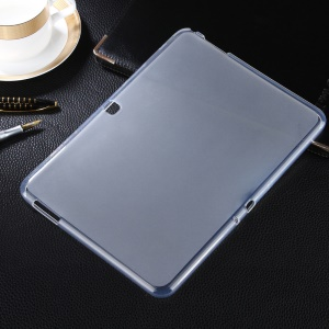 Double-sided Matte TPU Tablet Case for Samsung Galaxy Tab 4 10.1 T530 - Transparent