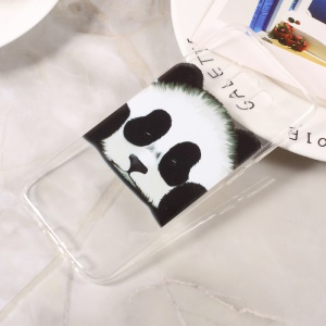Patterned Clear TPU Mobile Case for Samsung Galaxy S8 - Cute Panda