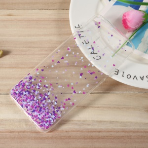 Pattern Printing TPU Ultra-thin Back Case for Samsung Galaxy S8 - Colorful Hearts