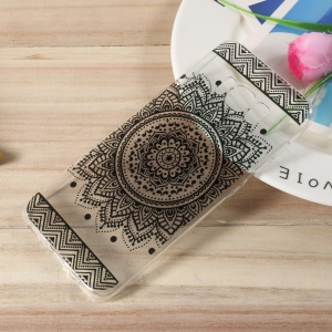 Pattern Printing TPU Cell Phone Case for Samsung Galaxy S8 - Mandala Pattern