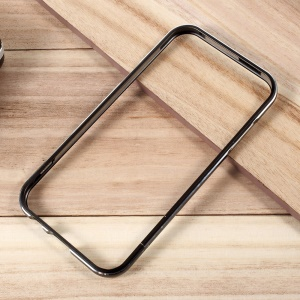 For Samsung Galaxy A7 (2017) A720 Plated Aluminium Alloy Bumper with Screw Lock - Black