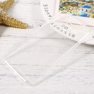 Anti-watermark Transparent TPU Mobile Phone Back Case for Samsung Galaxy C5 Pro