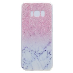 Pattern Printing Soft TPU Mobile Phone Case for Samsung Galaxy S8 - Colorized Pattern