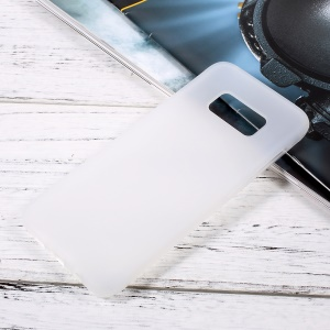Anti-skid TPU Mobile Phone Cover for Samsung Galaxy S8 - Transparent