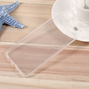 Touchable 2-in-1 Clear TPU Gel Cover for Samsung Galaxy S8 Plus - Transparent