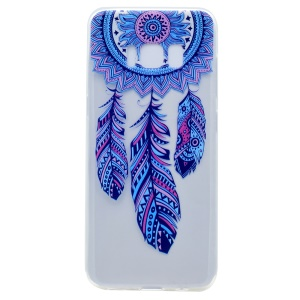 Patterned TPU Phone Case for Samsung Galaxy S8 Plus - Tribal Dreamcatcher