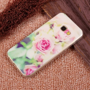 Ultra Thin Patterned TPU Protective Case for Samsung Galaxy A5 (2017) SM-A520F - Beautiful Roses