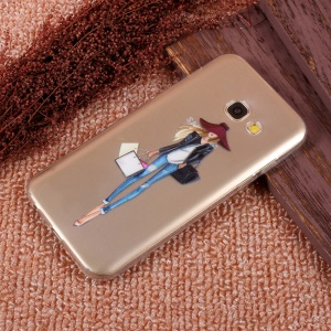Patterned Ultra-thin TPU Back Phone Cover for Samsung Galaxy A5 (2017) SM-A520F - Shopping Girl