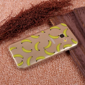 Mobile Accessory Ultra Thin Patterned TPU Phone Casing Protector for Samsung Galaxy A5 (2017) SM-A520F - Bananas