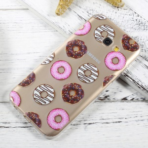 Ultra Thin Patterned Soft TPU Case Mobile Accessory for Samsung Galaxy A5 (2017) SM-A520F - Doughnuts