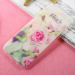 Patterned TPU Back Cover Case for Samsung Galaxy S8 Plus - Fresh Roses