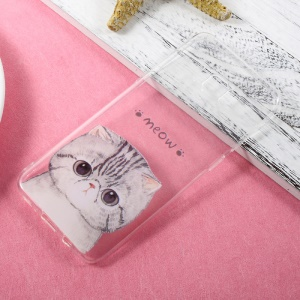 Ultra Thin Patterned TPU Cover Case for Samsung Galaxy S8 Plus - Cat Meow