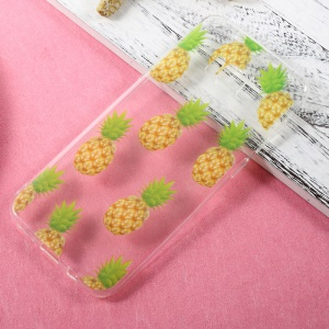 Patterned Thin TPU Cellphone Case for Samsung Galaxy S8 Plus - Pineapples