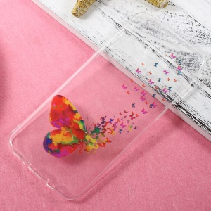 Ultra Thin Patterned TPU Skin Case for Samsung Galaxy S8 Plus - Pretty Butterflies