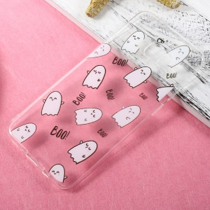Patterned TPU Case Accessory for Samsung Galaxy S8 Plus - Boo Cartoon Eggs