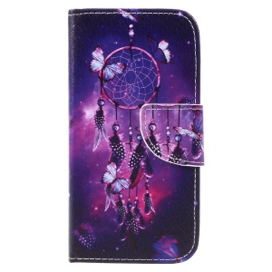Pattern Printing Wallet Leather Stand Case for Samsung Galaxy A5 (2017) SM-A520F - Dream Catcher
