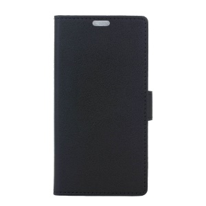 Wallet Leather Stand Case for Samsung Galaxy S8 Plus - Black