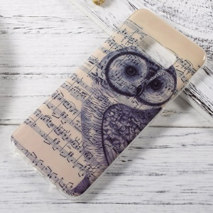 In-Mold Decoration IMD TPU Soft Case for Samsung Galaxy S8 - Musescore and Owl